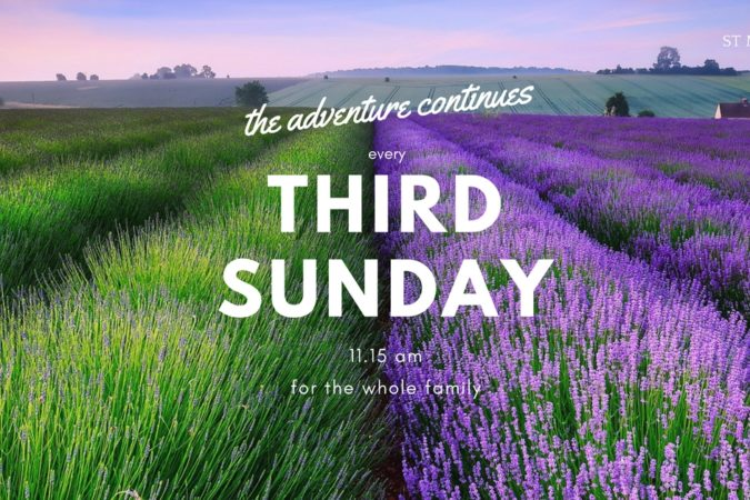 third sunday FB banner